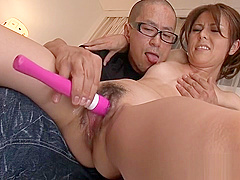 Japanese princess gets wedgie with didlo