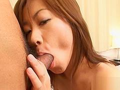 Amazing Asian titty fuck