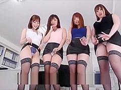 busty perverted secretaries fuck the boss (full clip: megaurl.in/hkjz47DG)