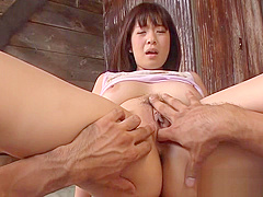Lusty barely legal minx wakaba onoue exposes her curves