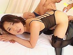 Hatsumi Kudo Hot Asian Babe Enjoys Some part3