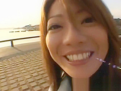 Juri Wakatsuki Hot Asian model gives part2
