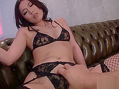 Stretching asian chicks anal canal