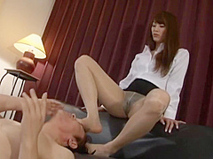 One of the best Jap fetish series-MGMY 001, magic of stockings and barefeet