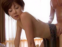 Ai Komori hot mature Asian chick gets in some facesitting