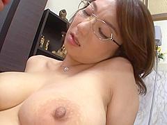 Mio Takahashi amazing Japanese mature lady is insatiable