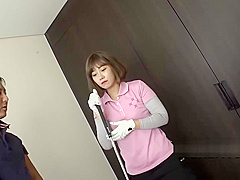 sexy Korean golf star wants to get fucked in her pussy