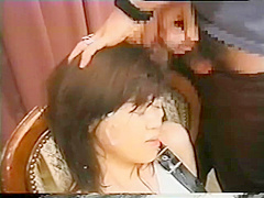 Cute Japanese Girl gets massive Bukkake