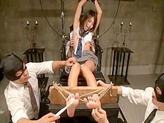 DDB-209 Megumi Shino 篠めぐみ tickle tickling punishment