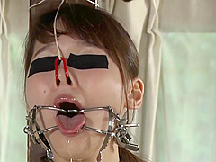 ASIAN HARD THROAT FUCK,TRAINING WITH TOY 3