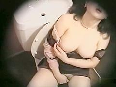 Japanese Toilet Masturbation - Pt. 2 - Cireman
