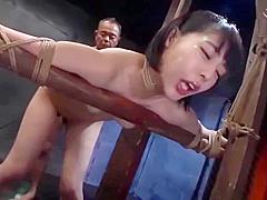 Hottest porn video BDSM show