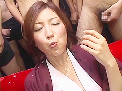 JAPANESE BEAUTIFUL GIRL CUM SHOT MOUTH GOKKUN
