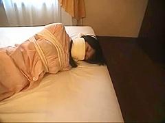 Japanese girls Pajama tied pt 1