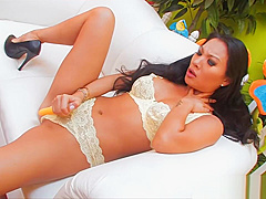 Asian MILF Asa Akira Plays With Her Pussy Then Drilled by BWC