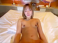 Mei 20 Year Old Shaved Slender Female College Student Even In H With My Boyfriend