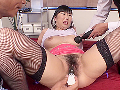 Lotion Play With Plump Ass Woman
