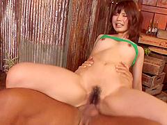 Yura Kurokawa Takes Powerful Fucking After An Asian Blow Job