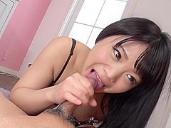 Asian Cum To Splashmoka Minadukis Hands