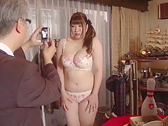 Crazy Japanese chick Chitose Saegusa in Incredible public, big tits JAV video