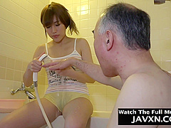 Hot Japanese Teen Fucked By Grandpa