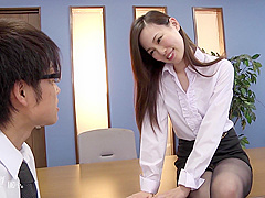 Misaki Yoshimura facesitting - japan jav uncensored stockings nylon heels pale office lady OL