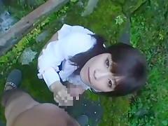 Crazy Japanese girl Kaho Kasumi in Exotic POV, Outdoor JAV video