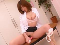 Amazing Japanese model Yui Akane in Exotic Masturbation/Onanii, Solo Girl JAV scene