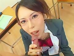 Hottest Japanese girl Rino Asuka in Amazing Blowjob/Fera, POV JAV movie