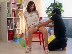 Amazing Japanese chick Reira Masaki in Horny JAV clip