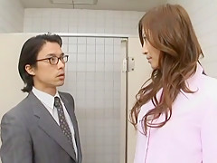 Amazing Japanese girl Leila Aisaki in Hottest Handjobs, Public JAV movie