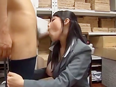Hottest Japanese model Miho Tsujii in Fabulous Blowjob/Fera JAV movie