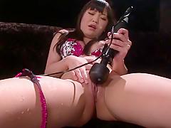 Exotic Japanese chick Nene Masaki in Horny JAV uncensored Dildos/Toys clip