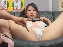 Crazy Japanese slut Mirei Kazuha, Mizuho Nishiyama, Reia Miyasaki in Horny Fingering, Blowjob/Fera JAV scene