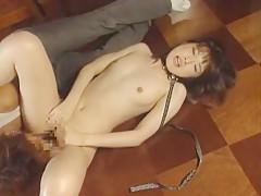 Horny Japanese whore Sena Nanami in Crazy Fingering, Fetish JAV clip