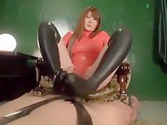 Incredible Japanese whore Momoka Nishina in Hottest Foot Fetish, Handjobs JAV clip