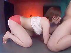 Incredible Japanese model Saki Okuda in Amazing Blowjob JAV movie