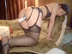 Incredible Japanese chick Yua Sakuya in Exotic Fingering, Lingerie JAV scene