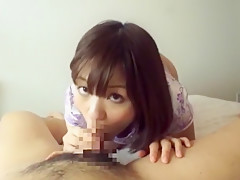 Hottest Japanese girl Wakaba Onoue in Best Blowjob, Striptease JAV clip
