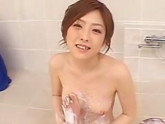 Hottest Japanese whore Ai Haneda in Incredible Fingering, Blowjob JAV clip