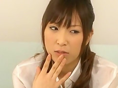 Incredible Japanese model Misa Ando in Exotic Masturbation, Blowjob JAV movie