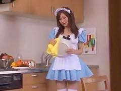 Exotic Japanese girl Kirara Kurokawa in Horny Big Tits, Babysitters JAV movie