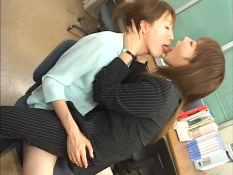 Savoury Jap Babes in Hot Sapphic Action