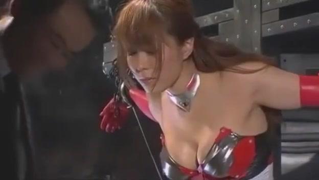 Japanese Heroine Tied Up