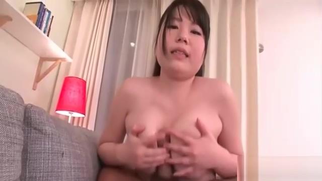 Busty naughty japanese girlie jun mamiya is teased with toys and sucks dicks